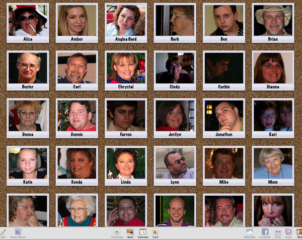 iphoto faces