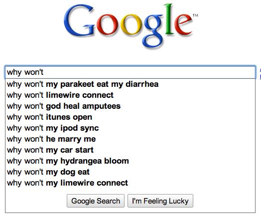 why wont google