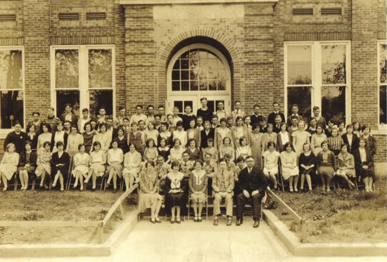 Crothersville School 1931