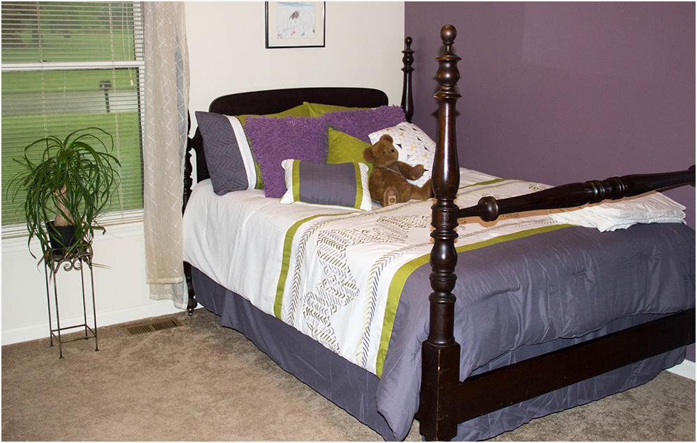 Coco's bedding