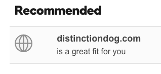 distinction dog