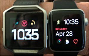 Fitbit rules; Apple Watch drools