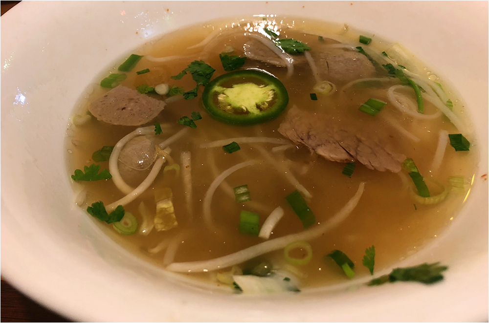 today I ate pho