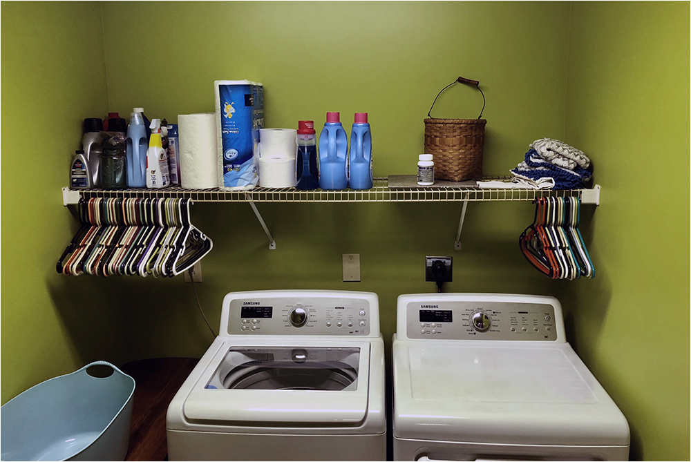 kerblammo after photo of the utility room