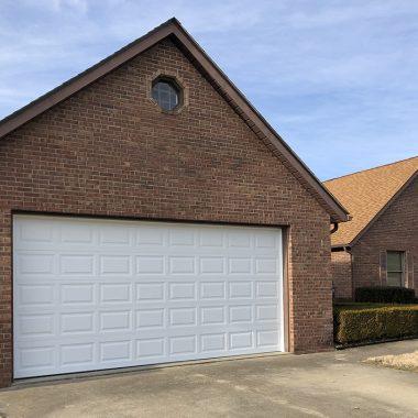 new garage door complete