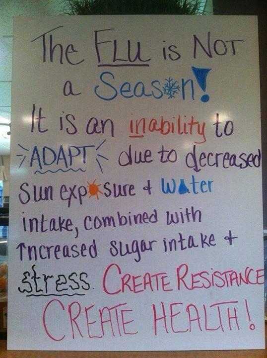 the flu is not a season