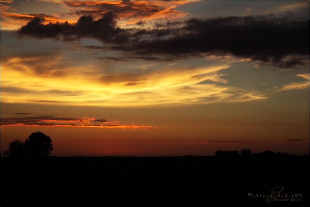 indiana sky at night