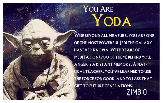 I am Yoda